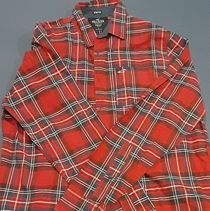 Hollister Epic Flex Mens Button  down Long Sleeved